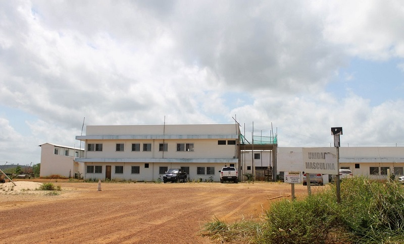 Obras no Complexo Penitenciário de Vitória do Xingu. — Foto: Reprodução / Susipe