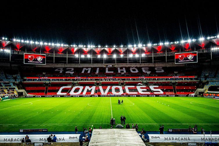 Mosaico de apoio ao Flamengo - Marcelo Cortes/Flamengo/Direitos Reservados