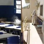 Militares do 53° BIS realizam higienização em diversos locais de Novo Progresso