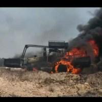 Ibama destrói maquinas em Garimpo na região de Novo Progresso-Fotos e Vídeos