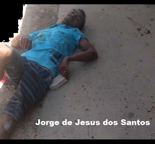 Jorge de jesus dos santos de 38 anos, foi nocauteado por populares para conter a violência. (Foto:Reprodução)