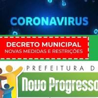 Covid-19: Prefeitura vai publicar decreto para liberar festas em Novo Progresso