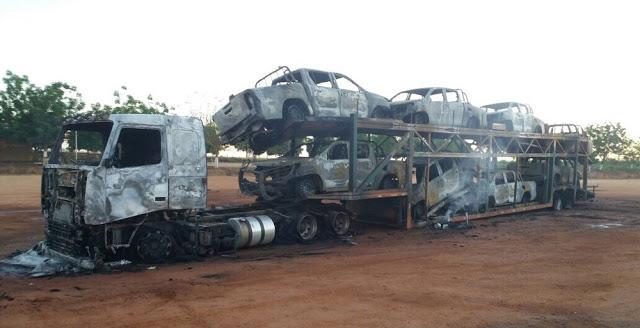 PF investiga incêndio de oito carros do Ibama em Cachoeira da Serra