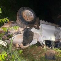 Empresário morre após capotar caminhonete na rodovia BR- 163