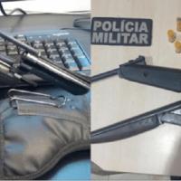 Dois homens são presos em flagrante por porte ilegal de arma de fogo na BR-163 e em Novo Progresso