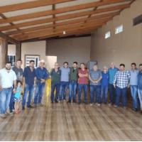 Prefeito Eleito Gelson Dill recebe grupo de empresários apoiadores em sua residência.