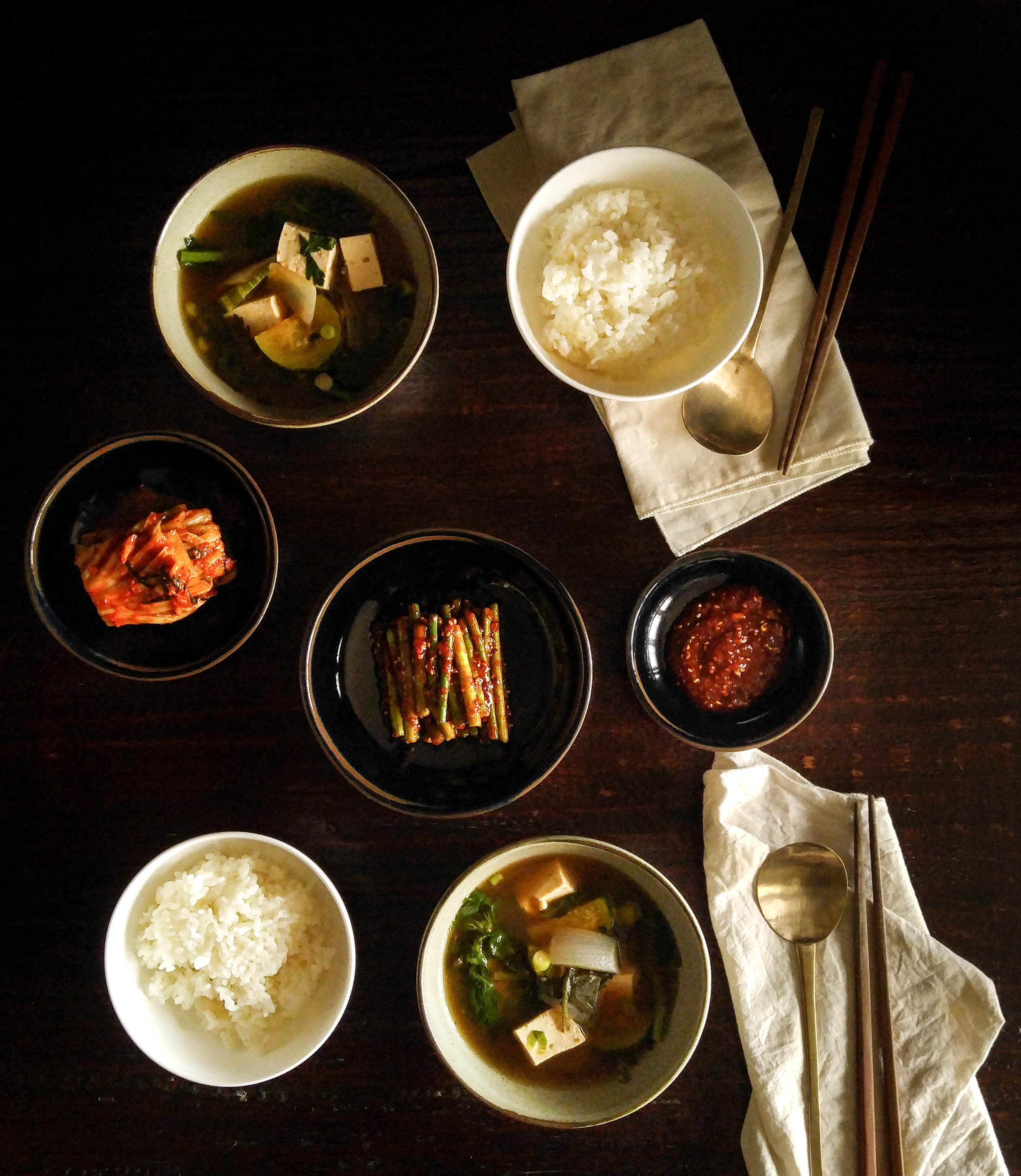 Crown Daisy Doenjang-guk: A Light Summer Soup With a Green ...