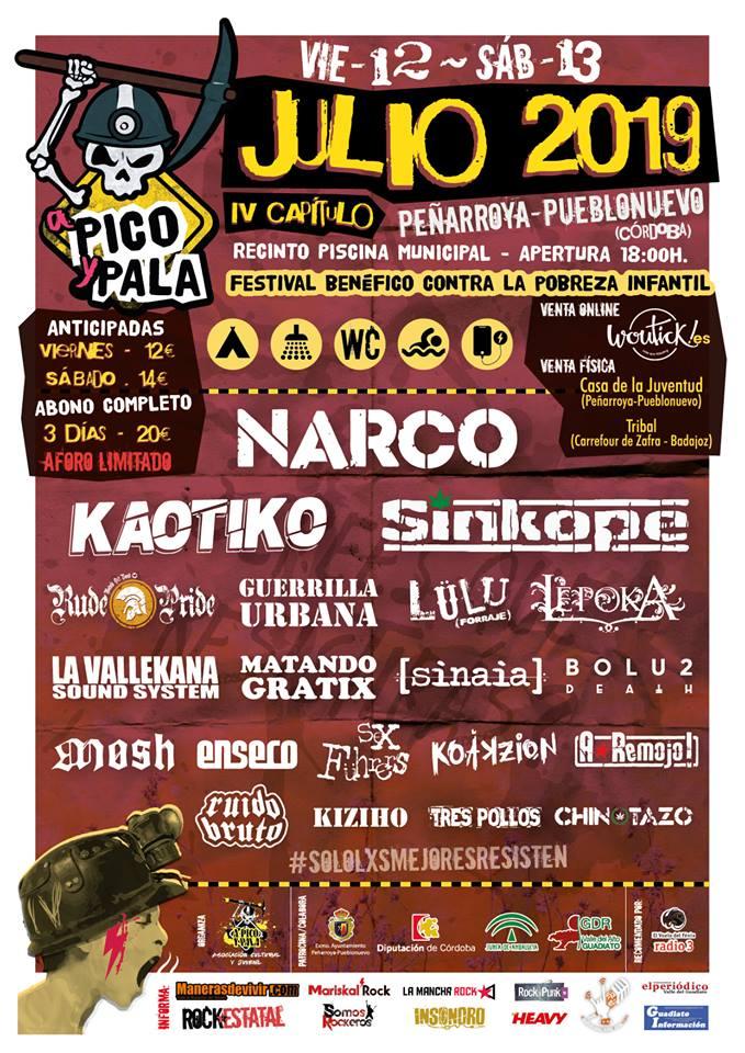 FESTIVAL A PICO Y PALA 2019
