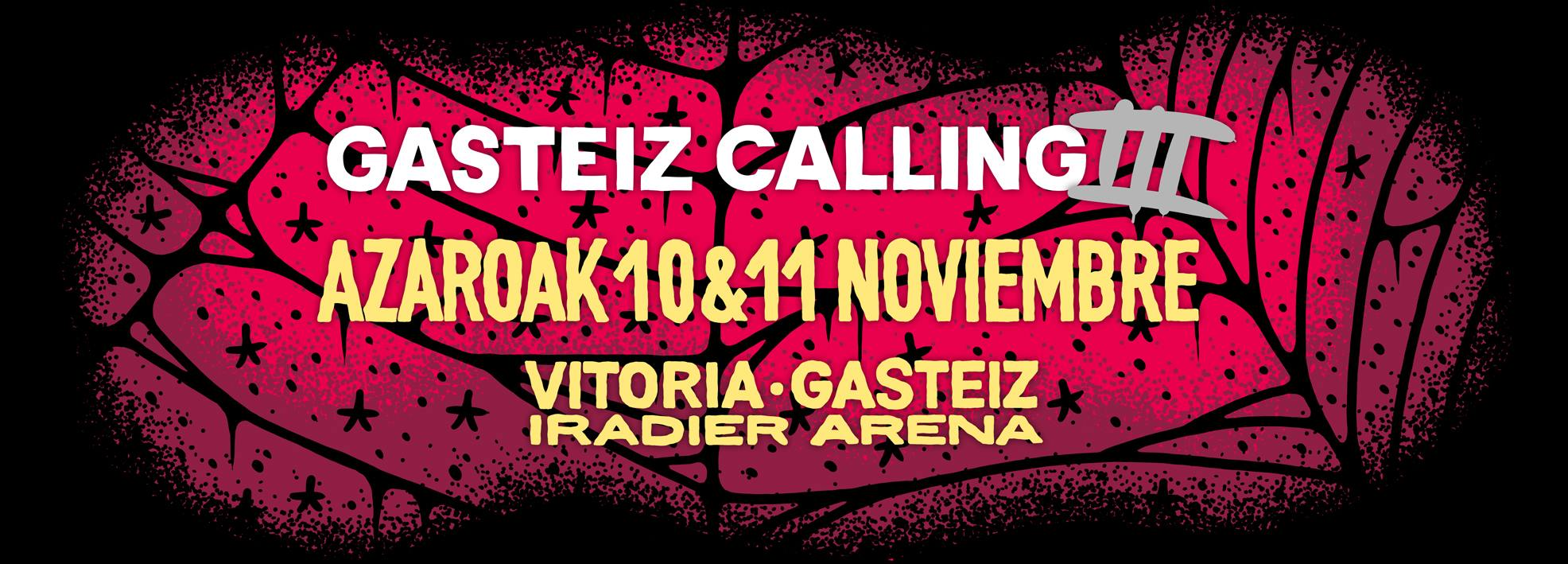 GASTEIZ CALLING 2017 – Warm Up + Post Party