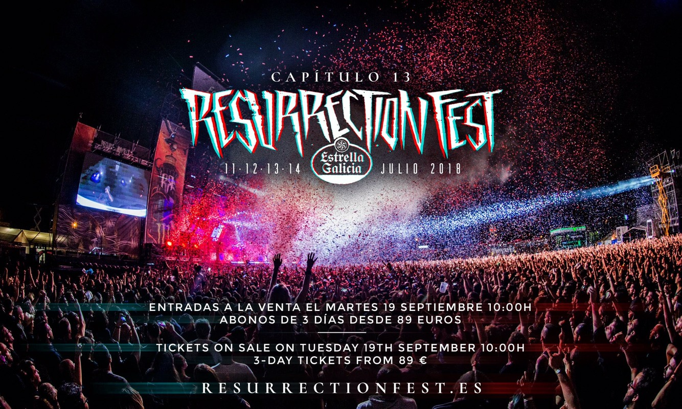 Resurrection Fest 2018 – Early Bird tickets