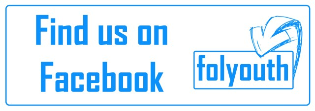 Find us on face book banner