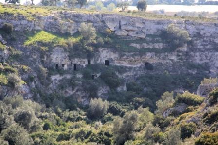Grottaglie, gravine di Riggio (ph Carmen Santantonio)