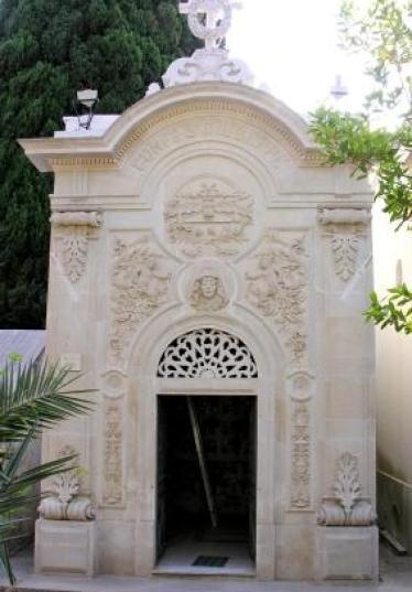 Cimitero di Nardò, cappella della congrega di S.Giuseppe