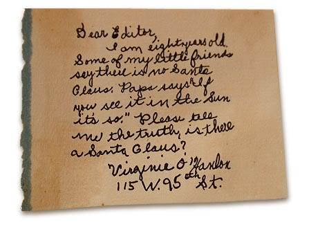 la lettera originale