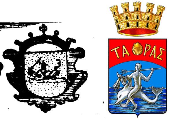 stemma (mappa 1/http://it.wikipedia.org/wiki/File:Taranto-Stemma.png)