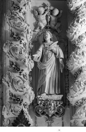 particolare dell'altare maggiore (ph Paolo Giuri)