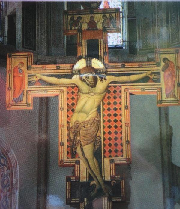 Crocifisso ligneo in Santa Chiara ad Assisi (sec. XIII)