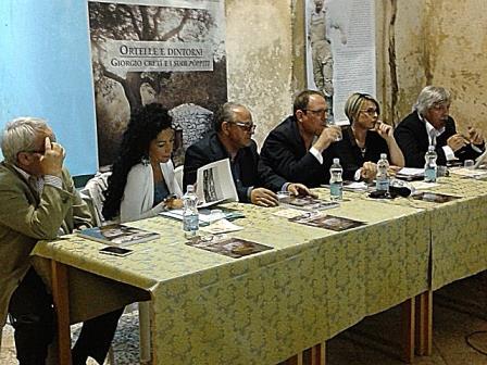 Omaggio a Giorgio Cretì, i relatori