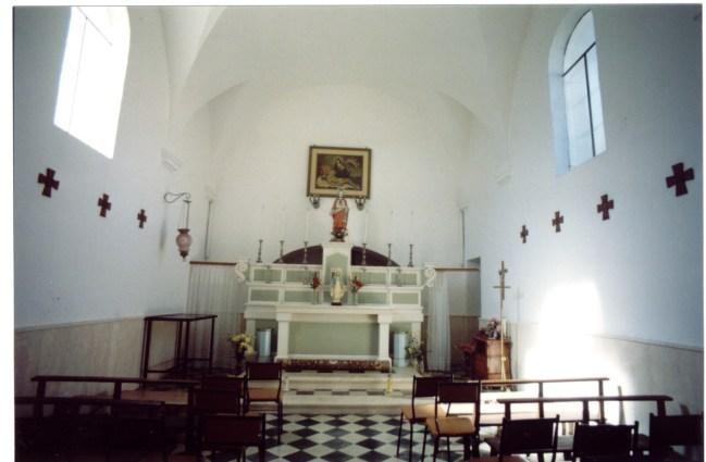 interno della cappella (ph Antonio Chiarello)