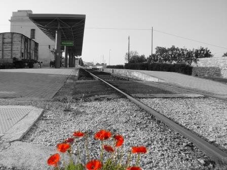 Stazione Sud-Est di Poggiardo (foto Antonio Chiarello)