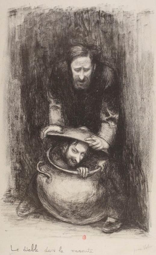 Le diable dans la marmite (Il diavolo nella pentola), 1904