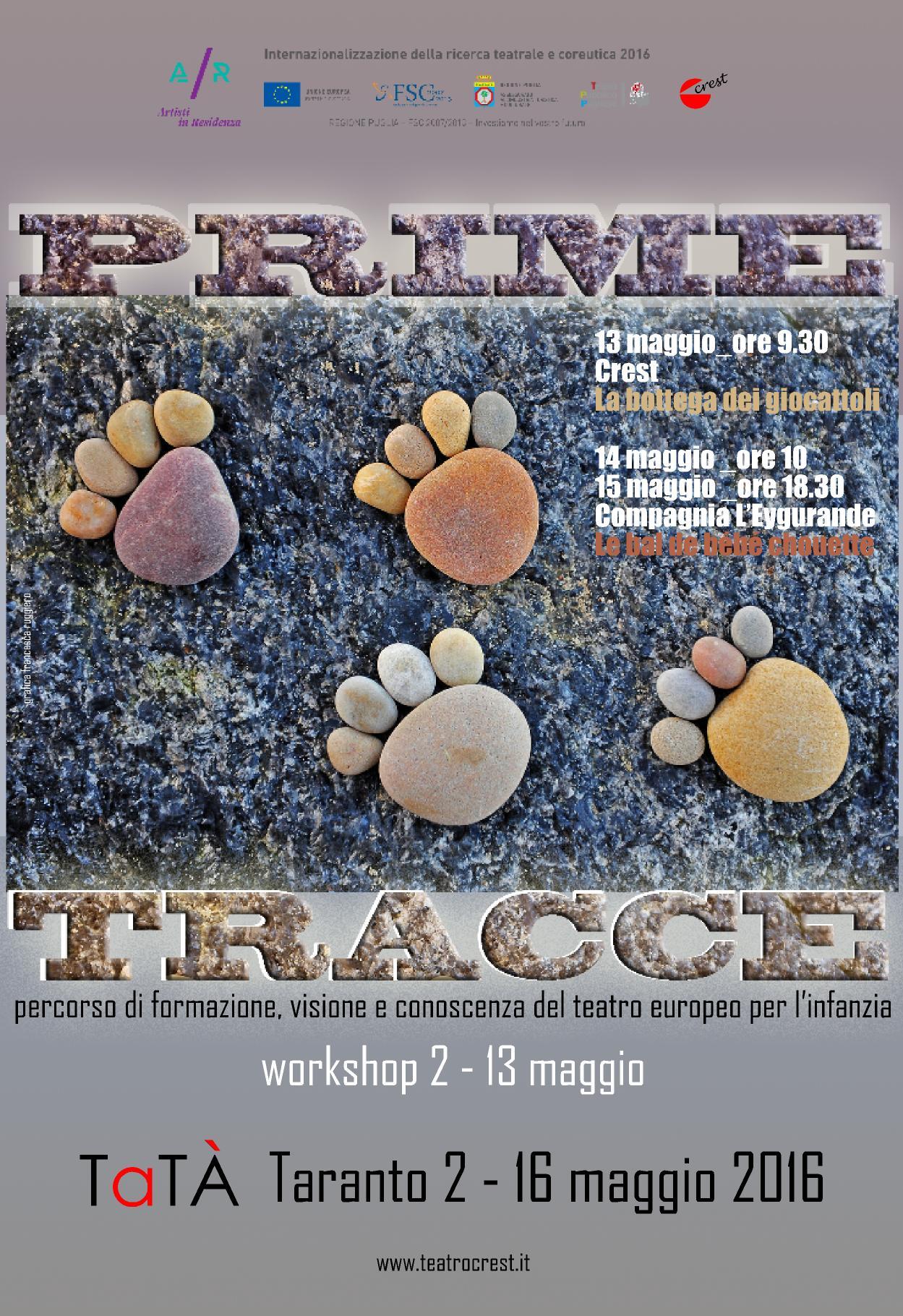 Teatro europeo per l'infanzia a Taranto