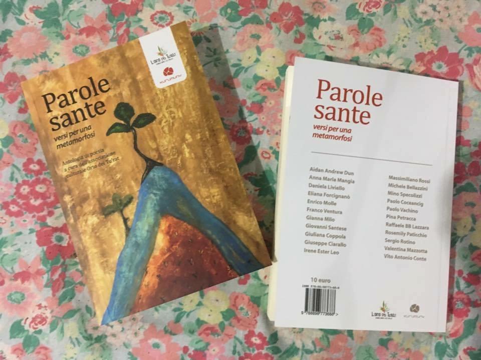 Libri| Parole sante. Versi per una metamorfosi