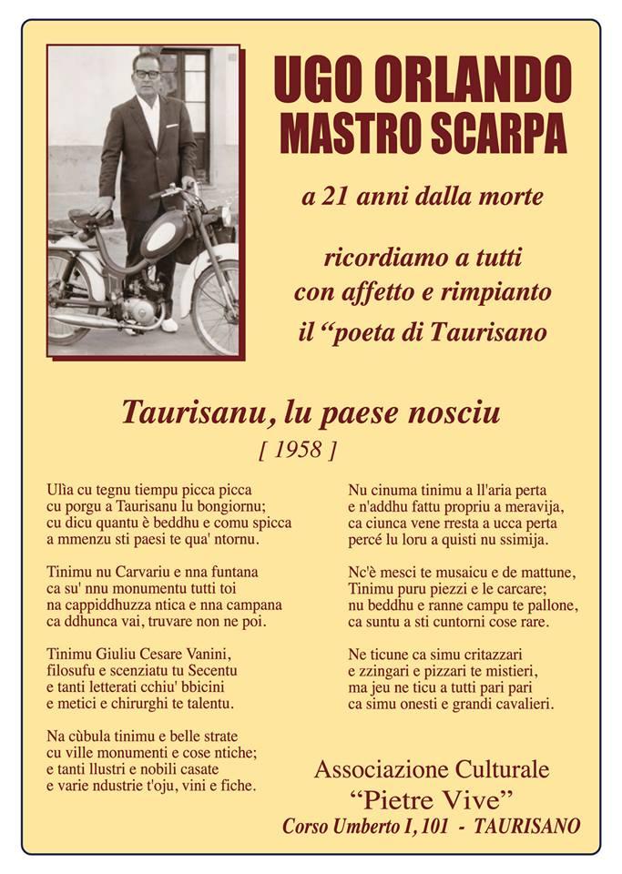 Libri| Ugo Orlando (Mastro Scarpa), Poesie
