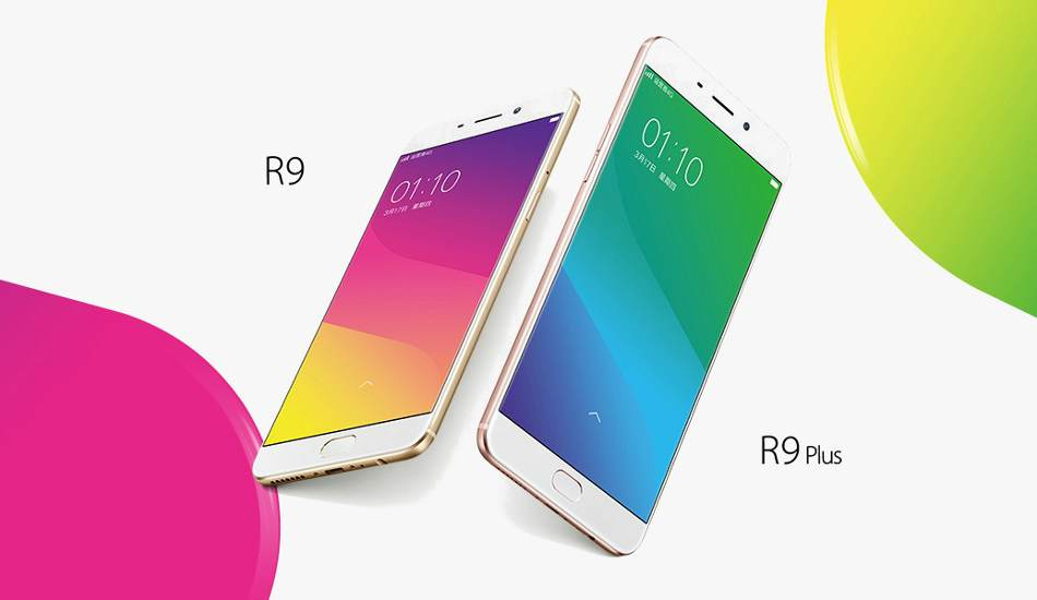 Oppo R9 and R9 Plus  camera-centric smartphones officially launched