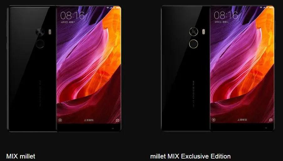 Xiaomi Mi MIX   Millet MIX Specification, Key Features & Price