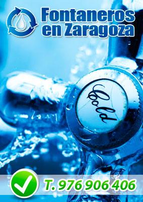 Fontaneros en Zaragoza