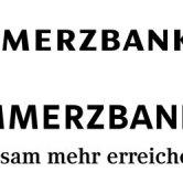 Das neue Commerzbank-Logo …