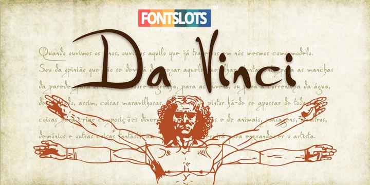 Da Vinci Font