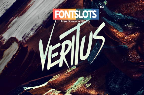 Veritus Brush Font