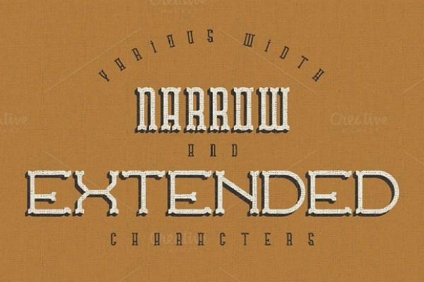 Traveller typeface 1