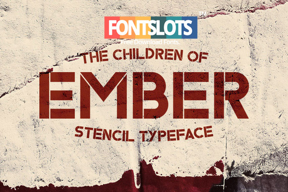 Ember Typeface Font