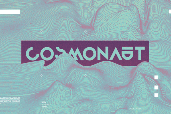 Cosmonaut Font