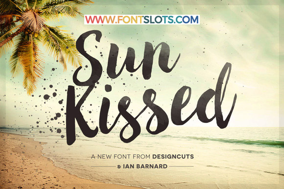 Sun Kissed Font