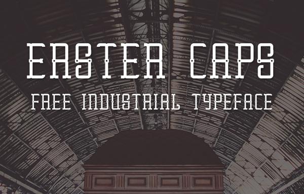 Erster Caps Font