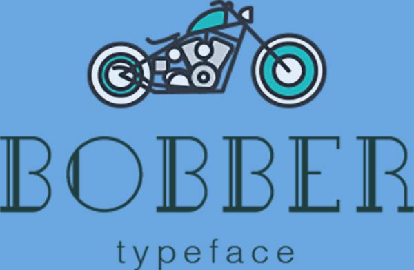 Bobber Typeface Font