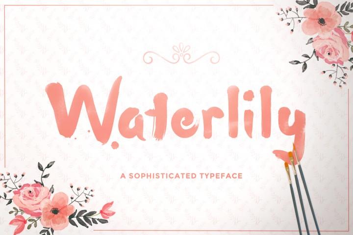 Waterlily Font