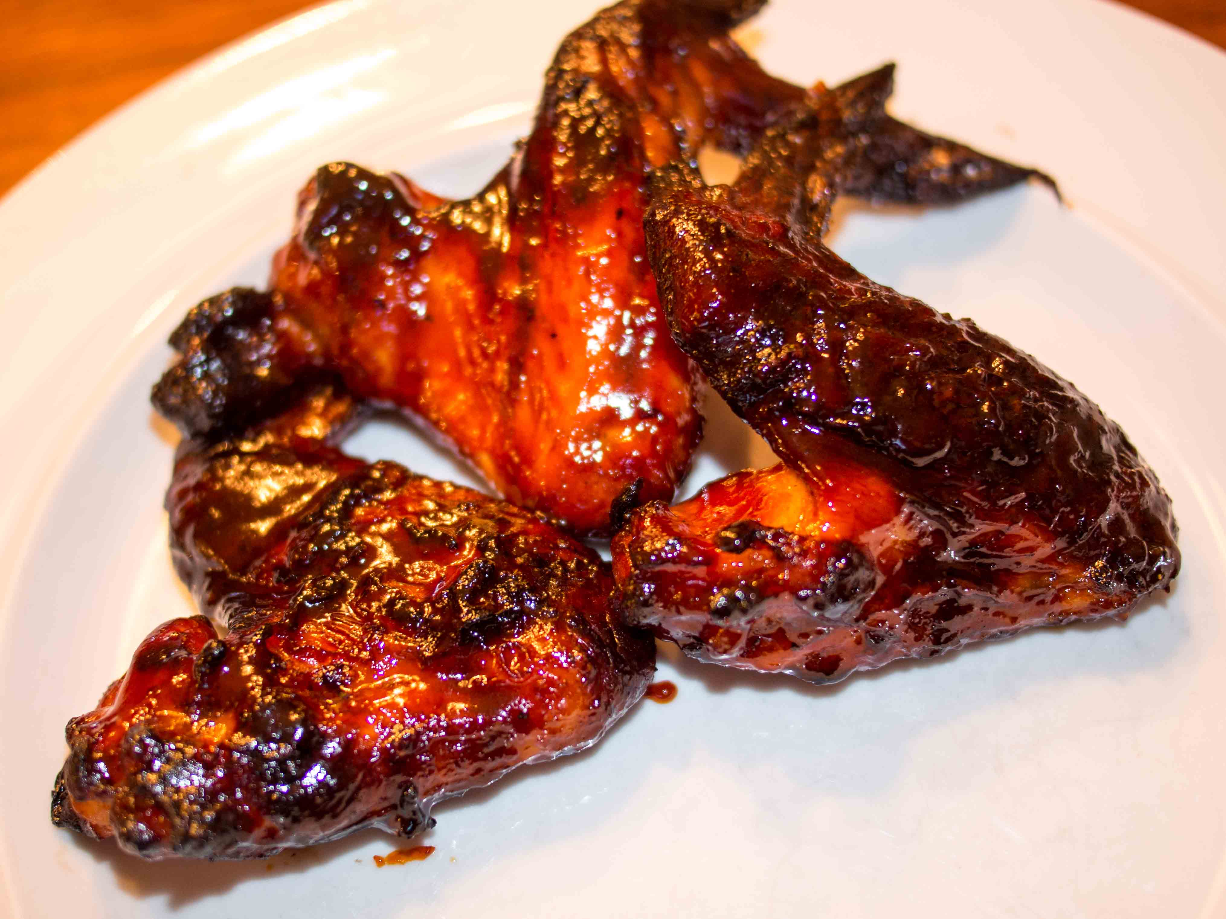 of inspiration for these wings – the Sriracha Honey Cashew Chicken ...