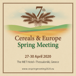 Cereals & Europe – Spring Meeting