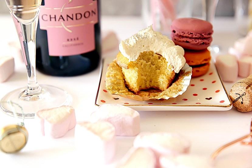 Rose Vanilla Cupcakes