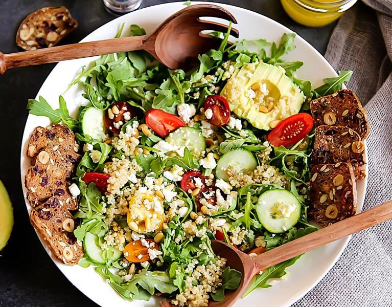 Quinoa Salad with Arugula