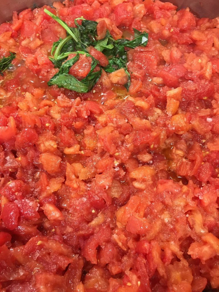 Lunch with Fulvio Pierangelini: The main ingredient of a perfect tomato sauce is love