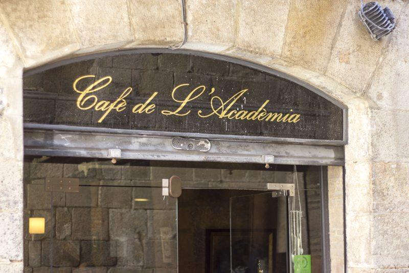 Cafe De L Academia Menu Del Dia