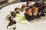 Morcilla y calamares Llamber