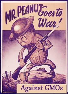 peanut goes to war