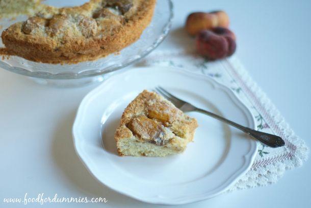 Torta Pesche e Mandorle